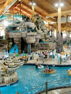 ohio water parks..            Kalahari indoor waterpark..