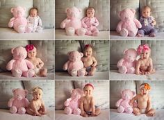 month by month baby pictures by Kate Luber