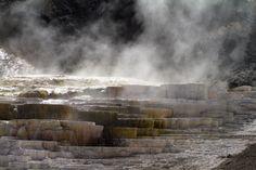 Yellowstone #yellowstone #nationalpark #hot #spring #smoke http://hikersbay.com/go/usa