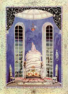 Fairy-tales of Hans Christian Andersen Illustrations by Kay Nielsen - The Real Princess