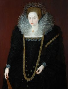 Portrait of a Lady 1590s