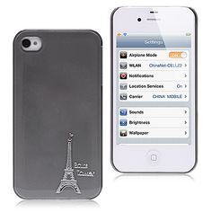 Eiffel tower iPhone 4 case  #cool #iPhone  #cases #back #covers #awesome #cheap #free #shipping #fashion #phone #accessories