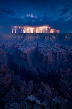 Monsoon season at the Canyon