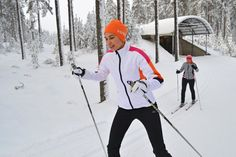 Opening of the Cross-country Skiing Season on 10th Oct! Ski this year already in October-November. Temperature in Northern Finland is typically still above zero. Days are getting shorter (10.10. 10h, 10.11. 7h) but long enough for sports.