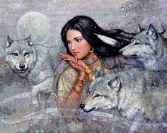 Maiden and Wolf
