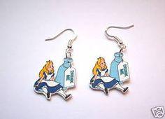 Jewelry/Earrings: Alice Earrings; from Disney's Alice in Wonderland