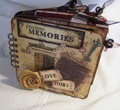 Precious memories album, Creative Cafe Girl Website