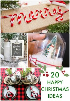20 Great ideas for Christmas (Crafts and Decor)