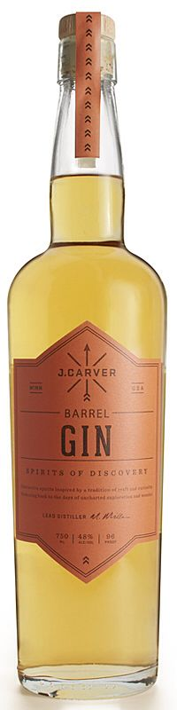 Barrel Gin # Carver # Gin of the World#