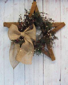 LAST ONE Christmas Star Artificial Wreath Christmas