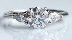 Tiffany & Co. 1.24ct G/VS1 Round Brilliant Cut Diamond Engagement ...