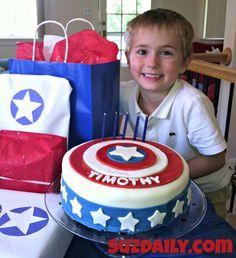 captain america cake 2
