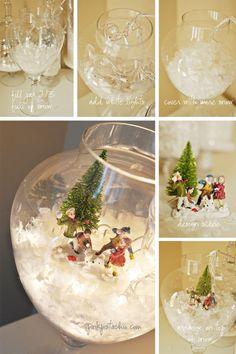 Snow Globe Terrariums
