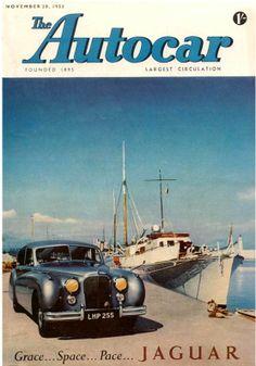 Jaguar – One Stop Classic Car News & Tips Jaguar S Type, Jaguar Xk, Jaguar Cars, Bike Magazine, Jaguar Daimler, Mg Cars, Car Brochure, Best Muscle Cars, Car Posters