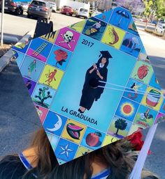 Graduation Cap, The lottery - Disney Graduation Cap, Graduation Cap Toppers, Graduation Leis, Graduation Cap Designs, Graduation Photoshoot, Graduation Cap Decoration, College Graduation, Caps For Graduation, Abi Motto