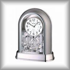 Elegantní stolní - krbové hodiny Rhythm Matcha, Clock, Accessories, Watch, Clocks, Jewelry Accessories