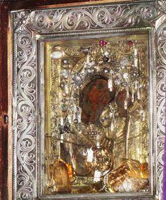 Παναγία Γρηγορούσα - Μοναστηράκι Orthodox Icons, Holy Spirit, Miraculous, Holi, Religion, Cancer, Greek, In This Moment, Painting
