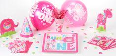 Decorazioni festa di compleanno 1 anno bambina - VegaooParty