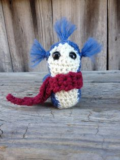 Crochet Labyrinth Worm by GiftsforGenevieve on Etsy https://www.etsy.com/listing/178417063/crochet-labyrinth-worm