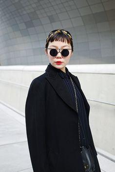 Seoul Fashion Week - Street Style