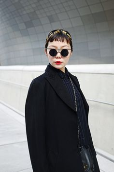 Seoul Fashion Week - Street Style