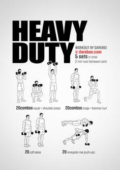 Heavy Duty Workout