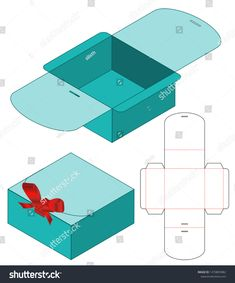 Find Box Packaging Die Cut Template Design stock images in HD and millions of other royalty-free stock photos, illustrations and vectors in the Shutterstock collection. Diy Gift Box Template, Paper Box Template, Origami Templates, Box Templates, Cardboard Box Crafts, Foam Crafts, Paper Crafts, Paper Art, Paper Toys