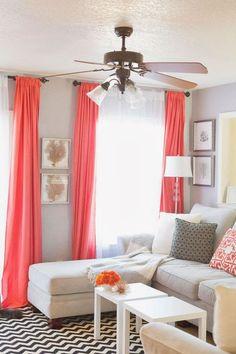 """Color coral: un """"must"""" en la deco de interiores"""