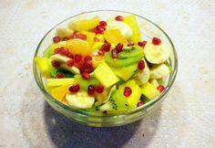 Gyümölcssaláta Évi nénitől Evo, Grapefruit, Fruit Salad, Fruit Salads