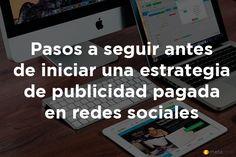 7 Pasos para iniciar una estrategia de publicidad pagada en redes sociales http://blgs.co/7AQ3Kp