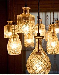 Liqueur Bottle Lamp