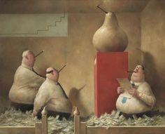 "Marius van Dokkum, Dutch Artist and Illustrator ~ Blog of an Art Admirer  ""Golden Pears"""