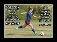 Soccer Motivation Poster Kelley O'Hara Photo Quote Wall Art It Takes A Lot Of Work To Make Your Dreams Happen - Free Ship by ArleyArt on Etsy Soccer Player Quotes, Soccer Memes, Football Quotes, Soccer Players, Soccer Books, Volleyball Quotes, Soccer League, Basketball Quotes, Sports Memes