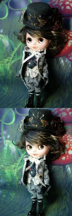 Custom Blythe Doll by Hasubito - Alice Boy