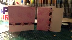 Handmade double cards