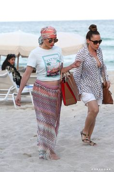 Pin for Later: J Lo's Beach Look Is So Much More Than a Sexy White Bikini