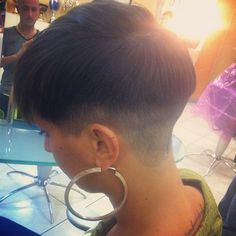 harsh fade Cool Haircuts, Cool Hairstyles, Pixie Cut, Hair Dos, Short Hair Styles, Tumblr, My Style, Instagram Posts, Beautiful