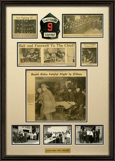 frame newspaper articles   Masterpiece Framing   Custom Picture Framing   Bloomingdale, IL
