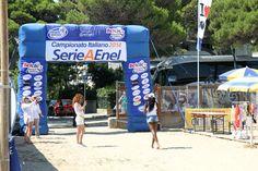 Il Betclic Beach Stadium di Lignano