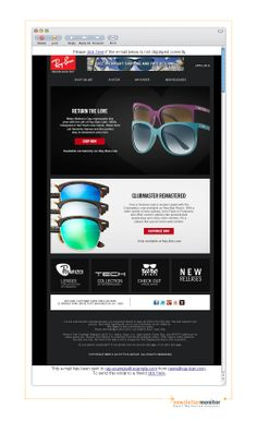 Brand: Ray-Ban | Subject: The Ray-Ban Cats 1000: make Mother's Day special