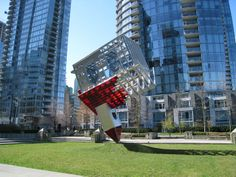More info: It was too hot for New York City; too hot for Stanford University. But a controversial, imposing sculpture by renowned international artist Dennis Oppenheim finally found a public home in laid-back Vancouver. Jean Tinguely, Jean Arp, Anish Kapoor, Marcel Duchamp, Damien Hirst, Henry Moore, Jeff Koons, Land Art, Dennis Oppenheim