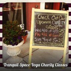 We have 3 opportunities this week for you to take a $5 yoga class to benefit great charities and local non-profits! The classes are a $5 suggested donation. Welcome the beautiful Spring weather with some do-gooding and yoga!