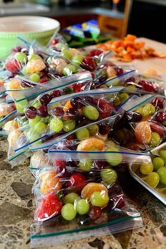 Days Two and Three by Ree Drummond / The Pioneer Woman, via Flickr( snacks for the team)