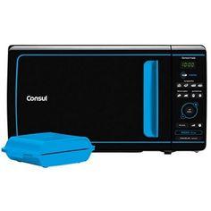 A Consul traz o Microondas Consul Preto-Azul Mais com função Tostex 20 Litros CME20, um aparelho com design incrivelmente moderno que conta com funções eficientes e fáceis de usar.