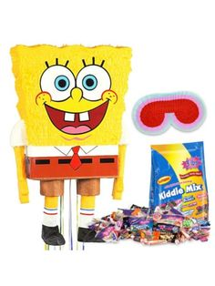 SpongeBob Pinata Kit - SpongeBob Party Supplies