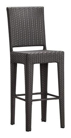 Anguilla Bar Chair (Espresso)