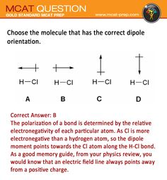 MCAT practice test question with answer from Gold Standard MCAT ...