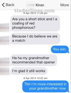 Kindred spirits. | The Most Important Tinder Moments Of 2014
