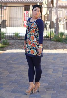 Mimi G Style: DIY Tunic + Leggings With Modification Info