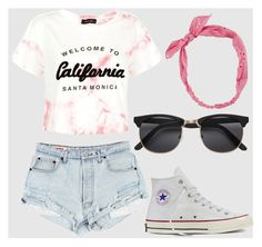 """Untitled #205"" by campgirl214 ❤ liked on Polyvore featuring New Look, Converse, Carole, summercamp and 60secondstyle"